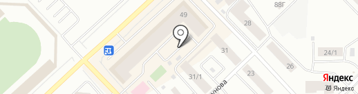 Нури на карте Якутска