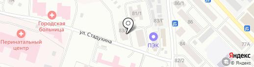 Экосервис-Якутия на карте Якутска