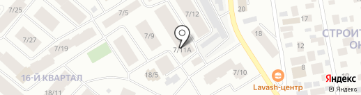 Детский подростковый центр г. Якутска на карте Якутска