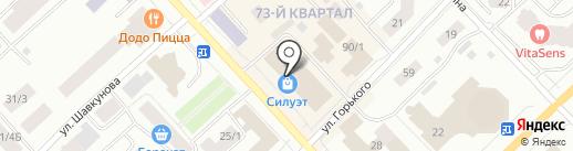 Магазин домашнего текстиля на карте Якутска