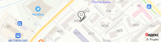 Поехали! на карте Якутска