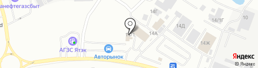 АвтоТехЭкспо на карте Якутска