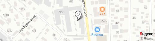 Усановочный центр газобалонного оборудования на карте Якутска