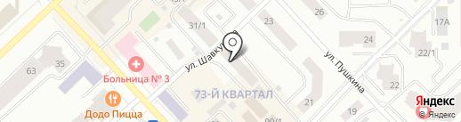 Автошкола №1 на карте Якутска