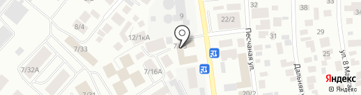 Абсолют Мебель на карте Якутска