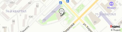 Туймаада на карте Якутска