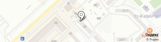 Вертикаль на карте Якутска