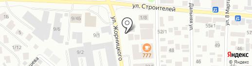 Европеец на карте Якутска