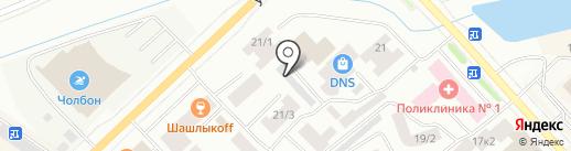 Терра Риэлти на карте Якутска