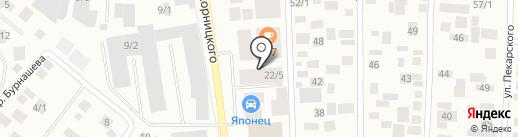Michelin на карте Якутска