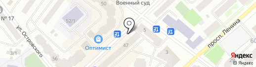 СОГАЗ на карте Якутска