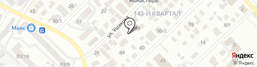 Экспресс-авто на карте Якутска