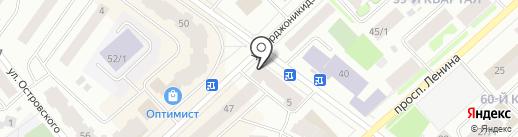 Восток-пиар на карте Якутска