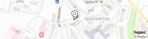 Продовольственный магазин на карте Якутска