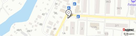 Хоту-Ас на карте Якутска