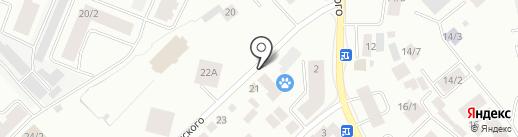 Магазин сантехники на карте Якутска