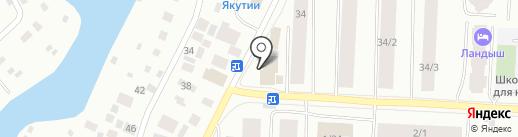 Ломбард Самородок на карте Якутска