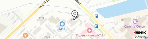 АрхиМед на карте Якутска