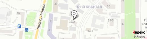 Служба распила мяса на карте Якутска