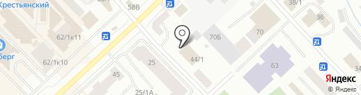 Сияние на карте Якутска