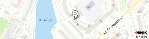 Юрта на карте Якутска