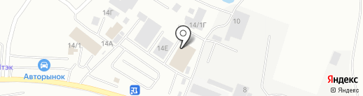 Северные шины на карте Якутска