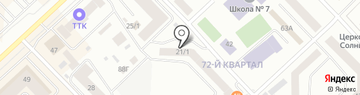 АвтоСпас-Слесарь на карте Якутска