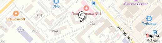 Кирова-2004, ТСЖ на карте Якутска