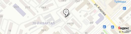 Якутпромстрой, ЗАО на карте Якутска