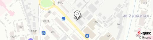 ГазСтандарт на карте Якутска