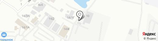 Автоярмарка на Окружной на карте Якутска