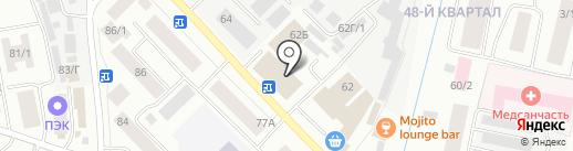 Nota Bene на карте Якутска