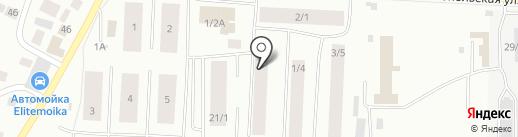 Фабрика Дизайна на карте Якутска