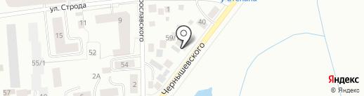 Акварай на карте Якутска