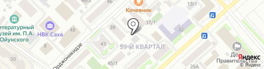 Market Hall на карте Якутска