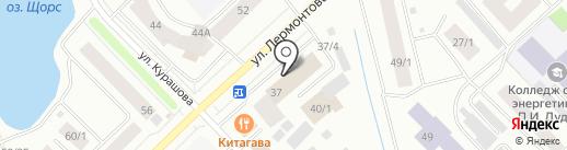Пара кадров на карте Якутска