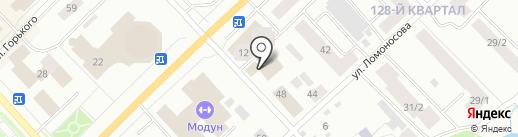 Росгосстрах банк, ПАО на карте Якутска