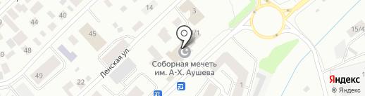 Соборная Мечеть на карте Якутска