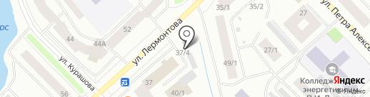 Дисплей на карте Якутска