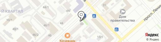 Fantazia на карте Якутска