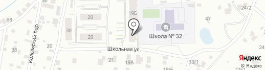 ЯКСМиК на карте Якутска
