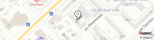 Ломоносова, 42, ТСЖ на карте Якутска