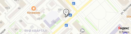 Надежда на карте Якутска