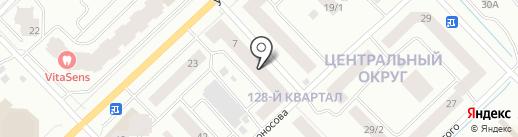 Прометей+ на карте Якутска