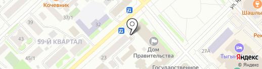 Евросеть на карте Якутска