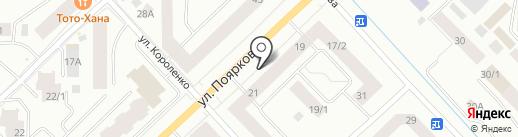 Автоспас-03 на карте Якутска