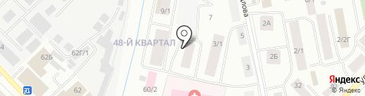 Якутский республиканский онкологический диспансер на карте Якутска