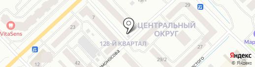 Ферма на карте Якутска