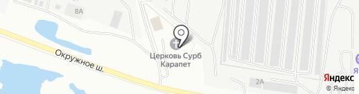 Союз армян г. Якутска на карте Якутска