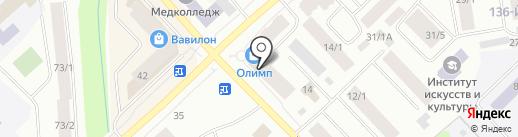 Сакура на карте Якутска